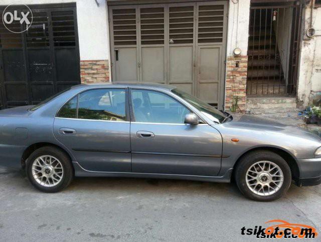 Mitsubishi Galant 1997 - 3
