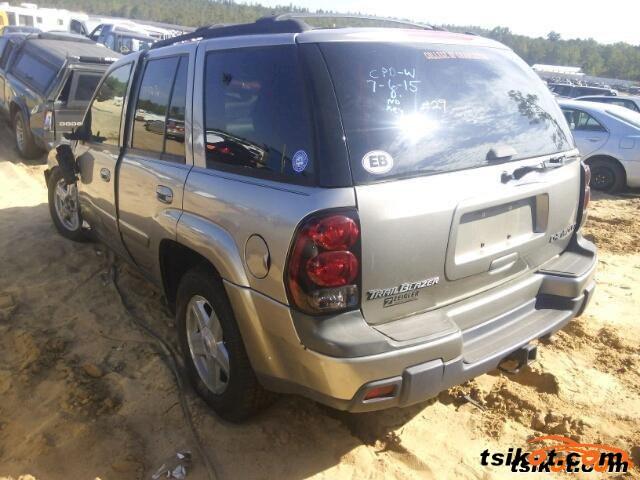 Chevrolet Trailblazer 2002 - 2
