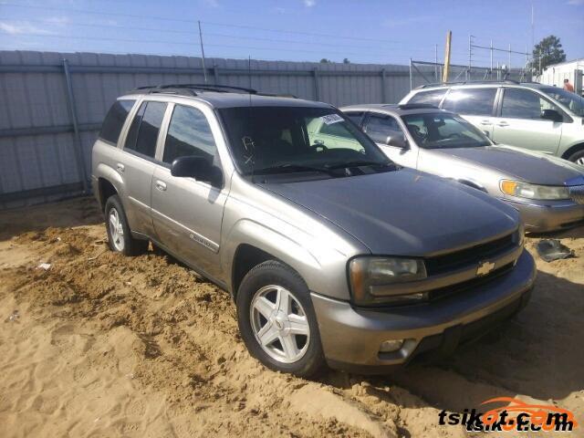 Chevrolet Trailblazer 2002 - 4