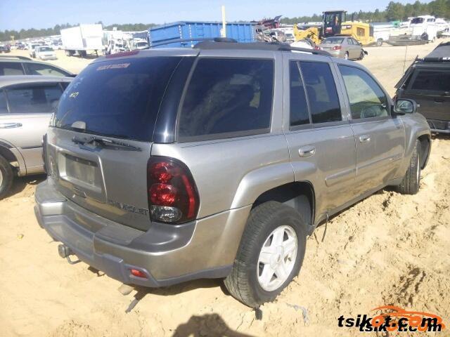 Chevrolet Trailblazer 2002 - 6