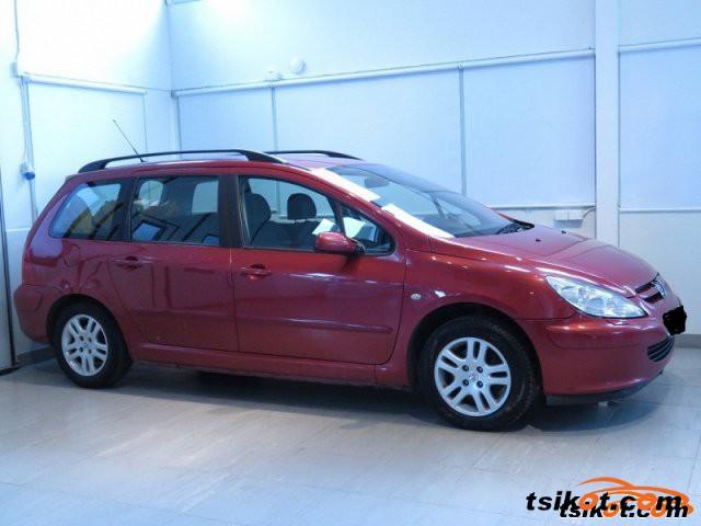 Peugeot 307 2002 - 2