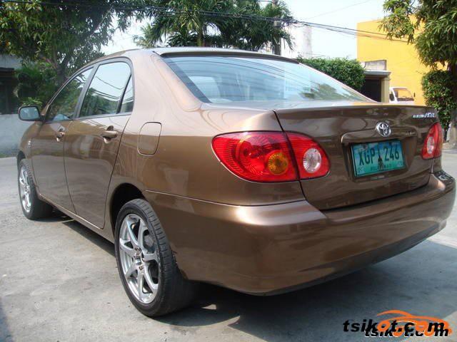 Toyota Corolla 2002 - 2