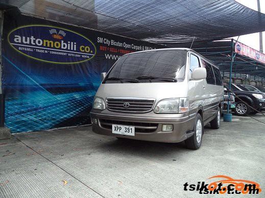 Toyota Hi-Ace 2004 - 1