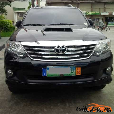 Toyota Fortuner 2013 Car For Sale Davao Region
