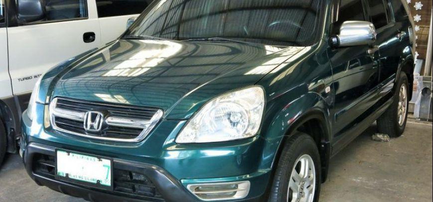 Honda Cr-V 2002 - 10