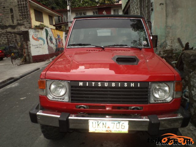 mitsubishi pajero 1990 car for sale calabarzon philippines. Black Bedroom Furniture Sets. Home Design Ideas