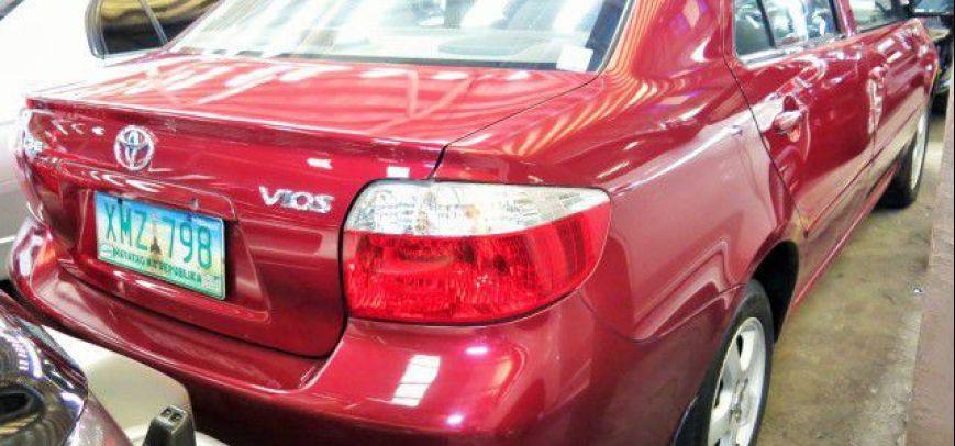 Toyota Vios 2003 - 8