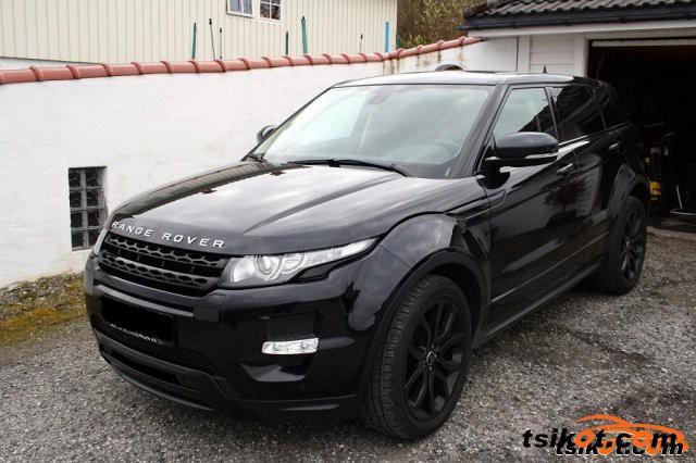 Land Rover Range Rover 2012 - 2