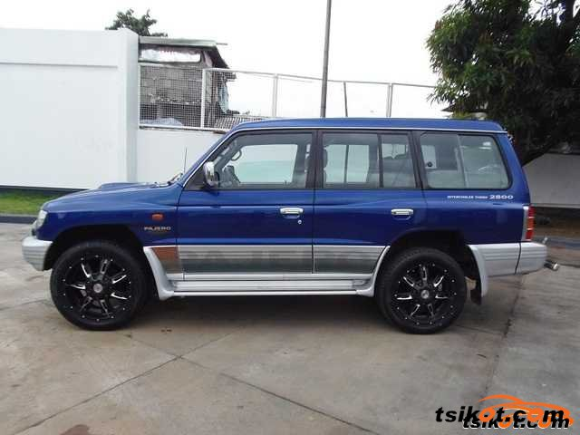 mitsubishi pajero 2003 car for sale davao region. Black Bedroom Furniture Sets. Home Design Ideas