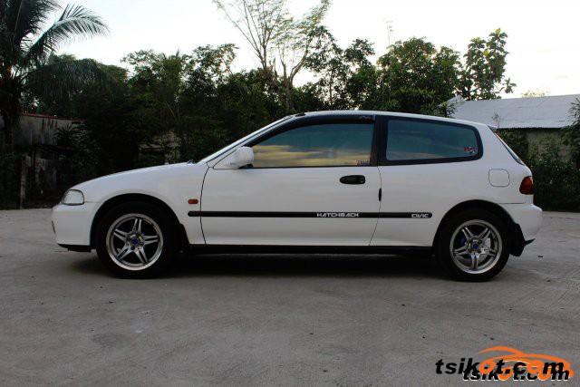 Honda Civic Del Sol 1993 - 1
