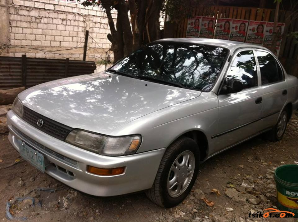 toyota corolla 1995 car for sale metro manila. Black Bedroom Furniture Sets. Home Design Ideas