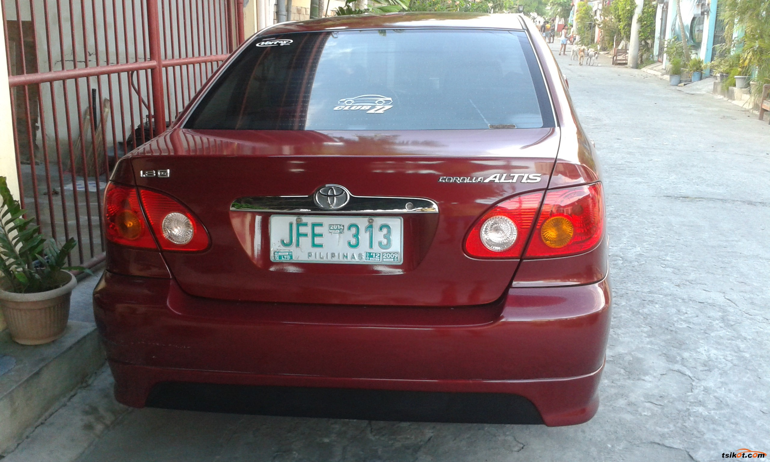 Toyota Corolla 2002 - 4