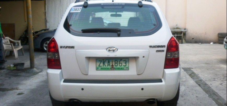 Hyundai Tucson 2007 - 10