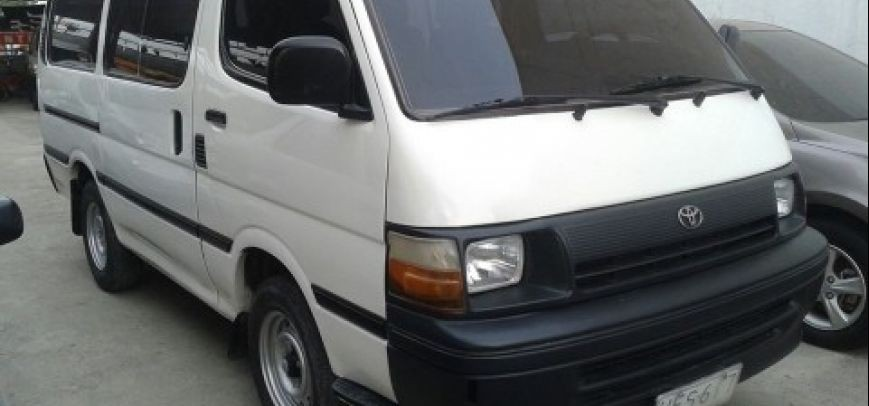 Toyota Hi-Ace 1997 - 5