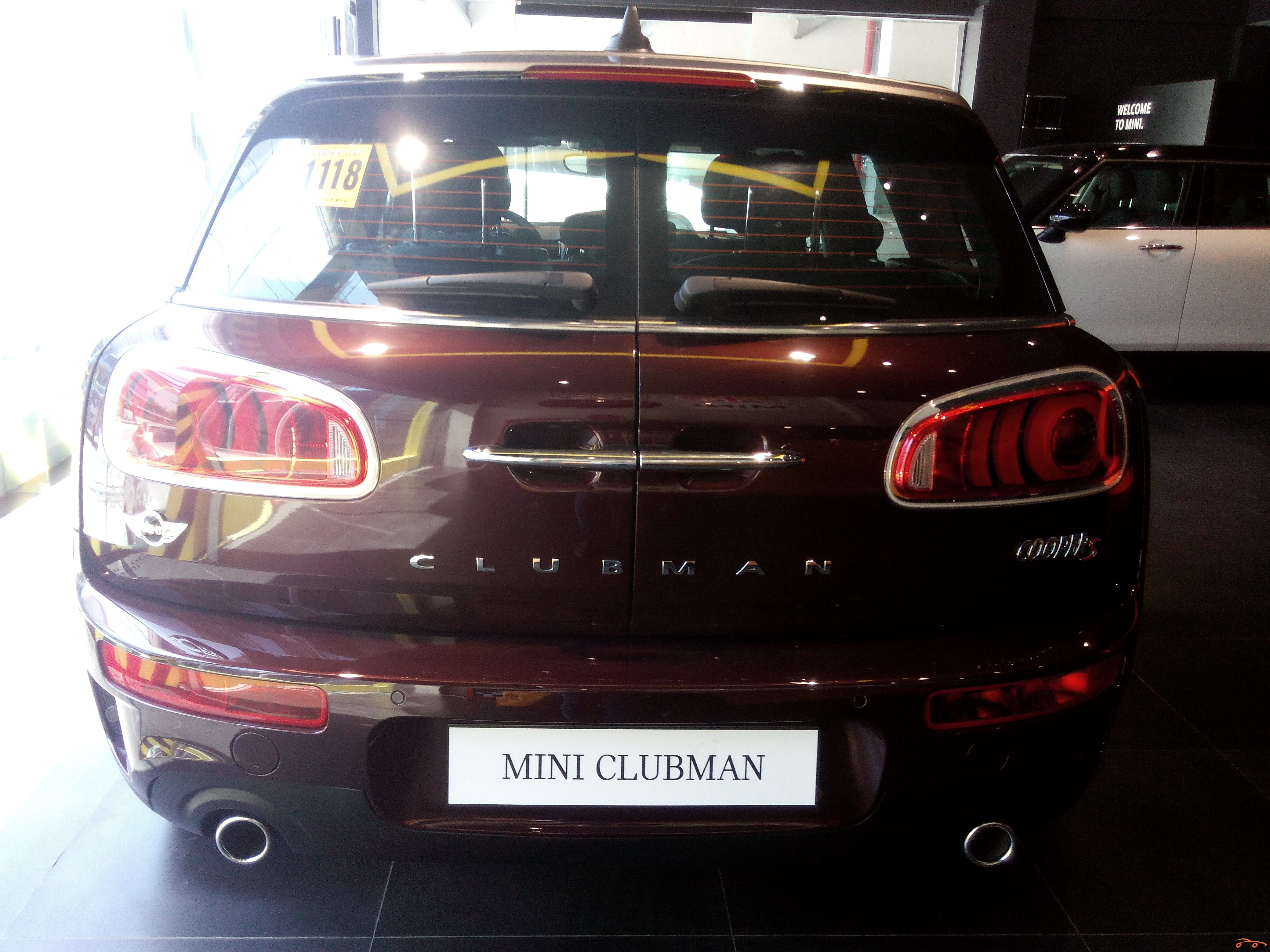 mini cooper s clubman 2016 car for sale central visayas. Black Bedroom Furniture Sets. Home Design Ideas