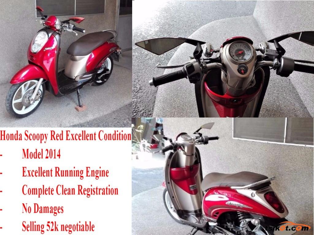 Honda Scoopy 2014 - 1
