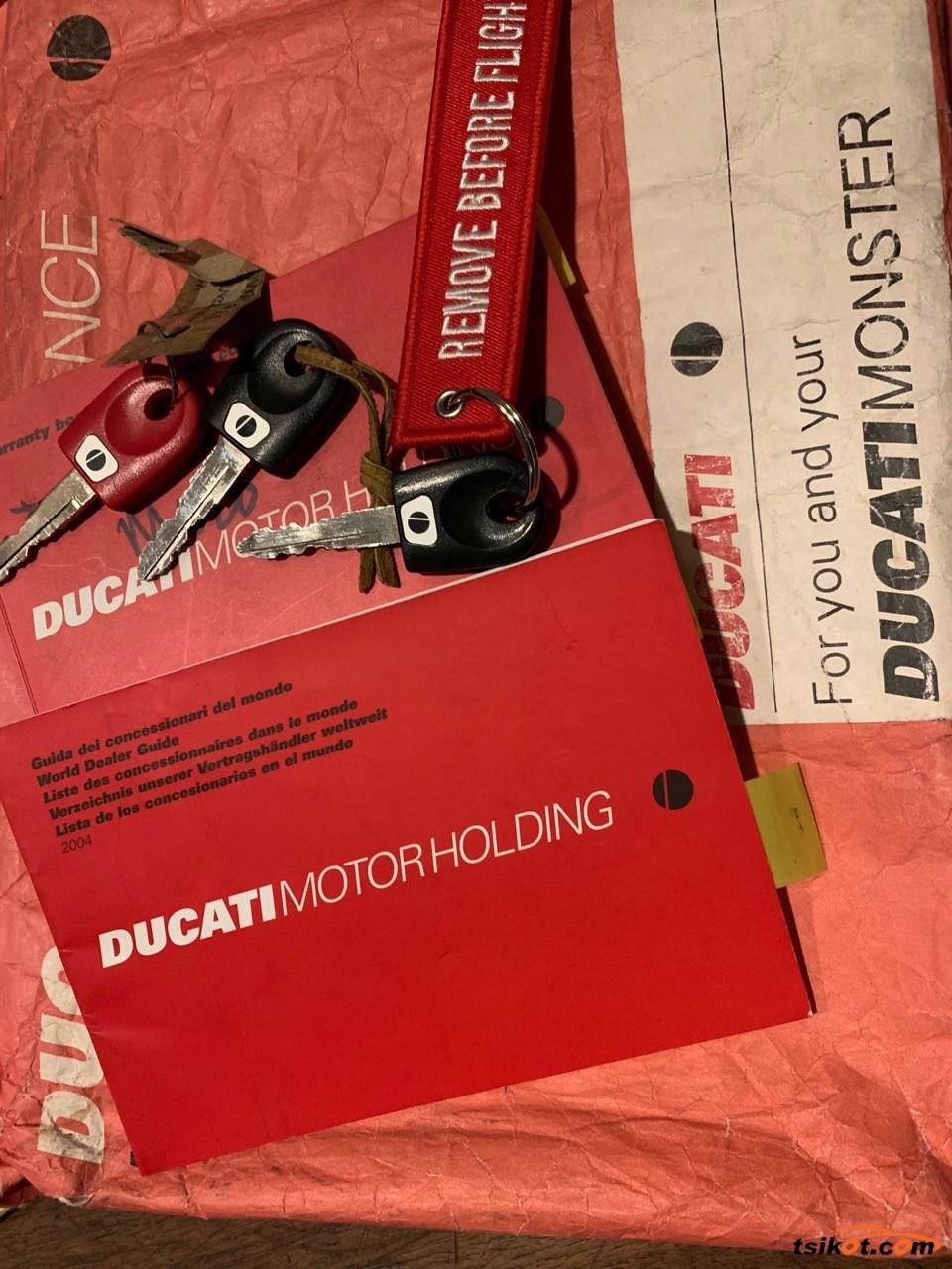 Ducati Monster 620 I.e. 2004 - 6