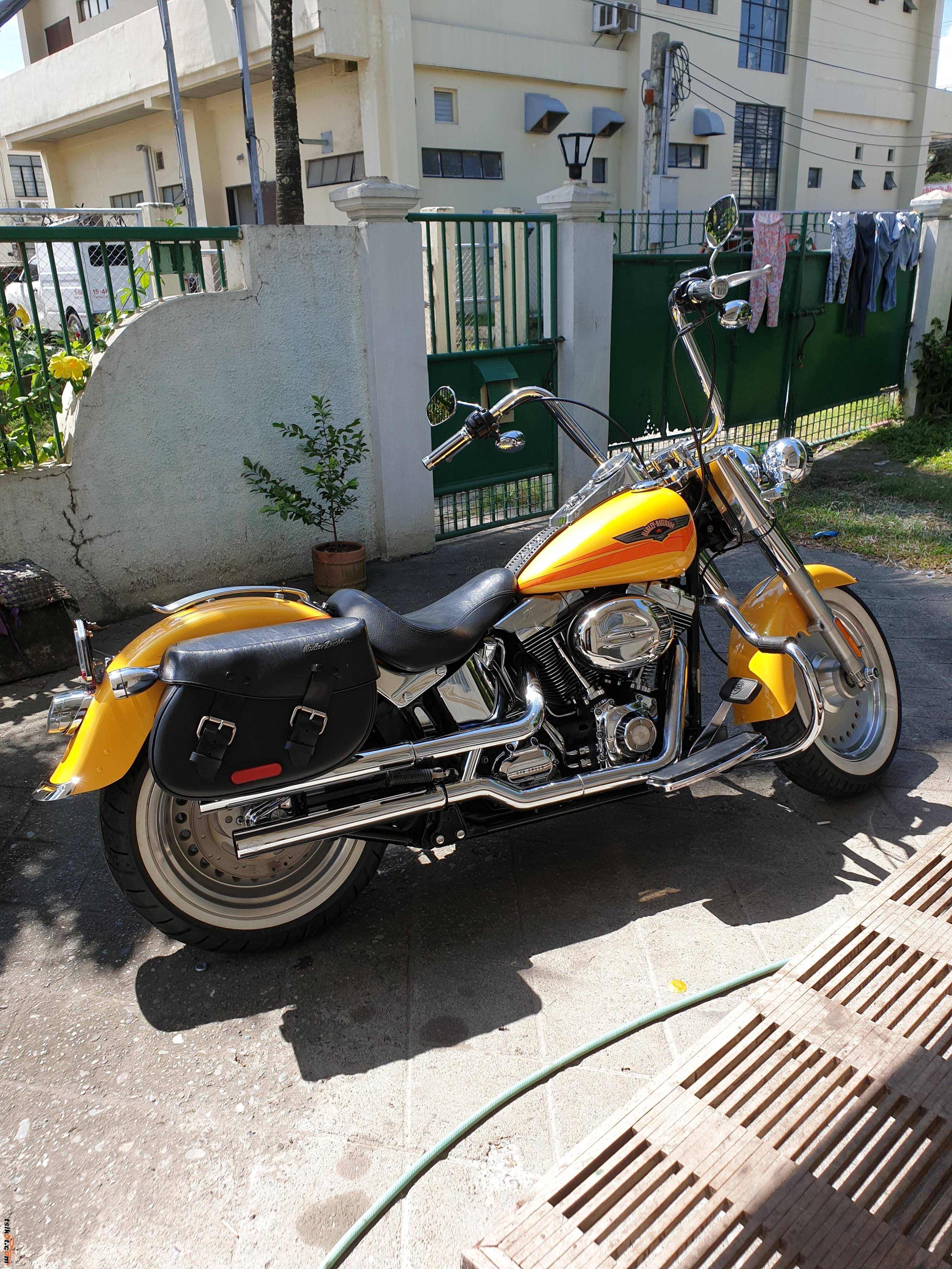 Harley-Davidson Fat Boy Injection 2001 - 2