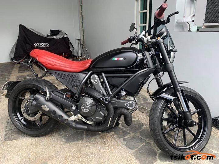Ducati 450 Scrambler 1974 - 1