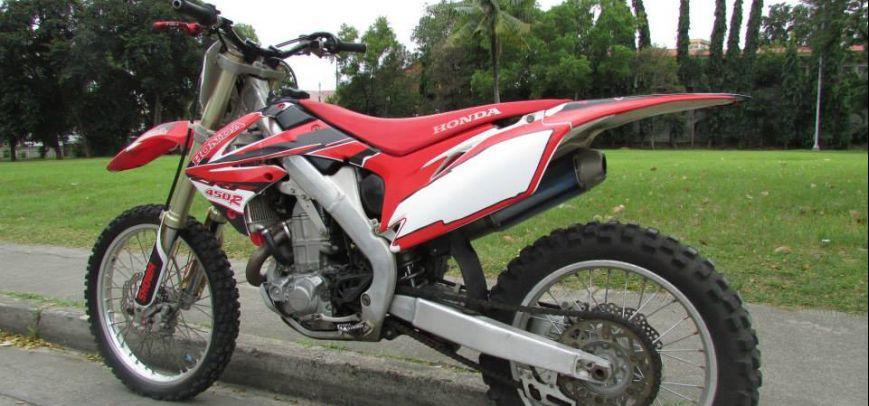 Honda Crf 450 R 2009 - 2
